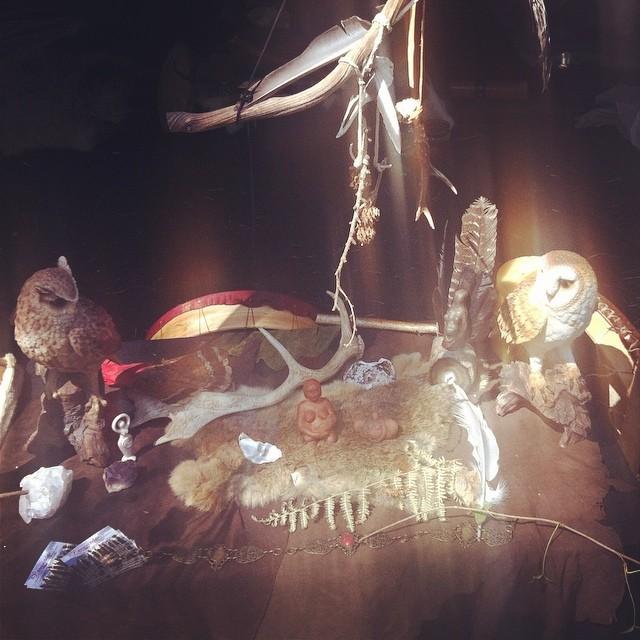 Altar gesehen auf dem Castlefest 2014