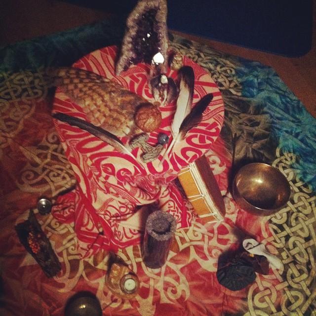 Samhain Altar 2014